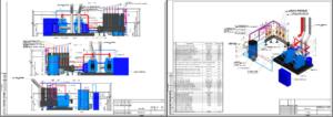 Проект котельной для частного дома 325кВТ
