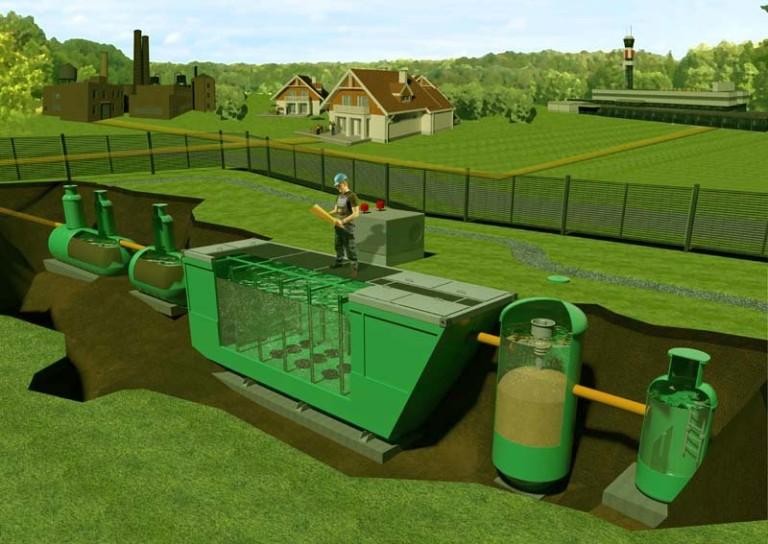 Проектирование канализации в поселке