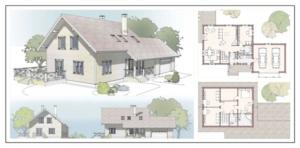 Проектирвоание загородного дома