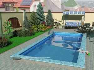 уличный бассейн
