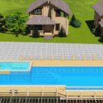 Проект открытого бассейна