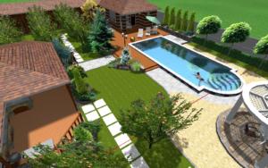 Проект бассейна в частном доме