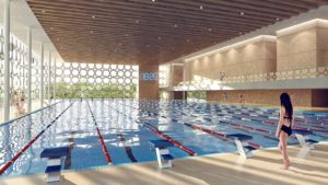 проект бассейна плавательного