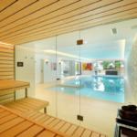 Проект бассейна с сауной