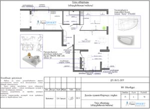 План квартиры оборудование и мебель