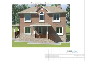 Проект дома 3д