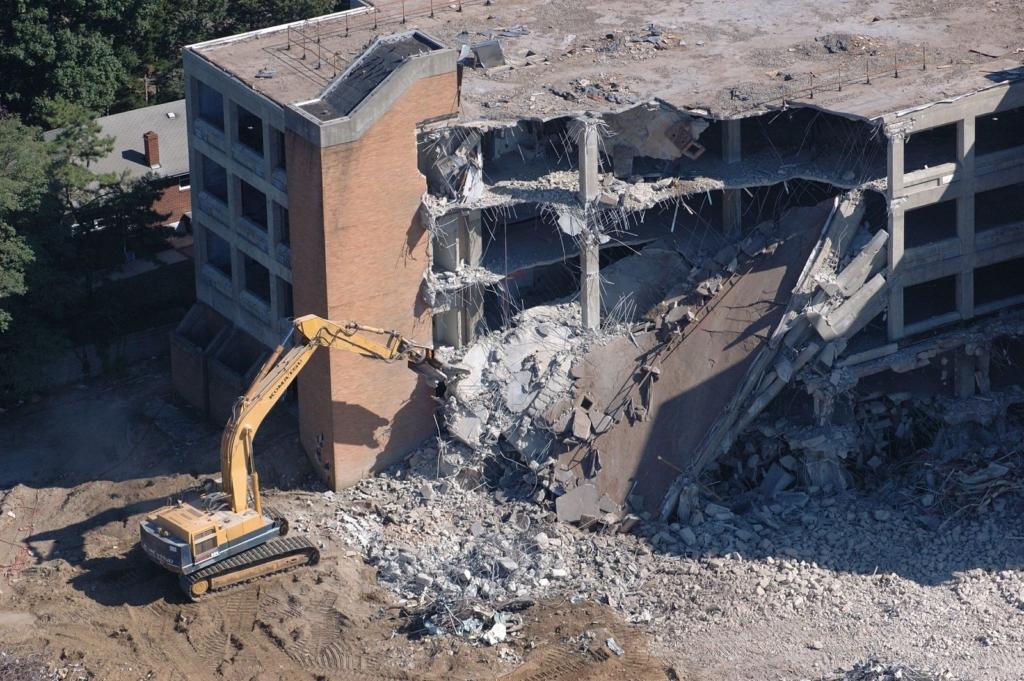 Проект организации сноса домов и зданий