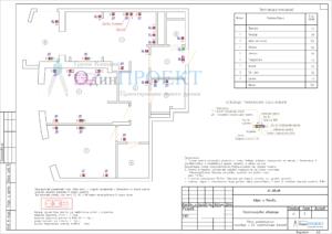 проект слаботочных сетей квартира