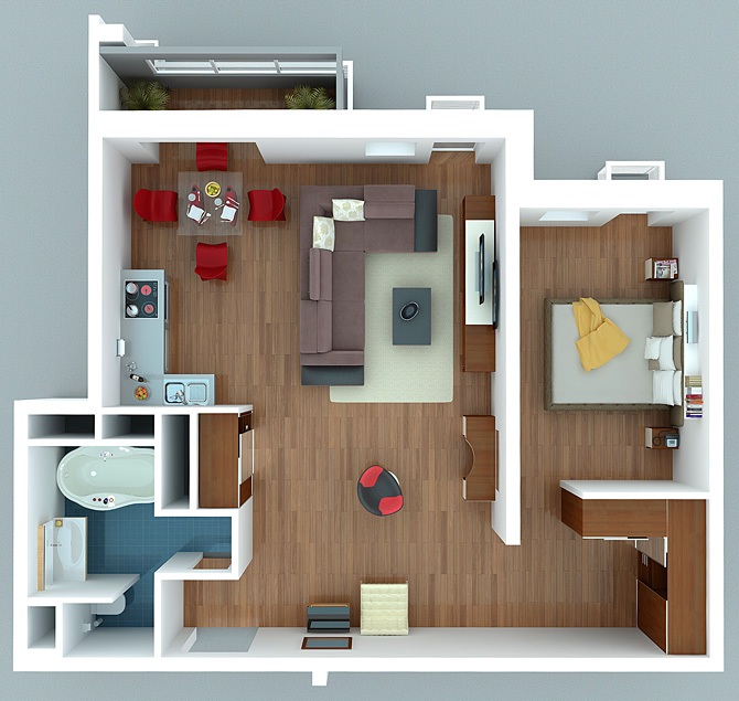 Дизайн проект квартиры одинцово