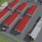 3d визуализация зданий автотехцентра