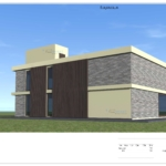 Архитектурный проекта коттеджа в г. Одинцово