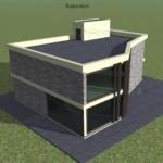Архитектурный проекта коттеджа
